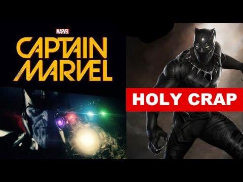 Marvel Phase 3 Movies! Black Panther 2017, Captain Marvel aka Carol Danvers! - Beyond The Trailer
