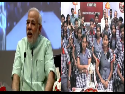 PM Narendra Modi speaks directly to students on Teachers' Day
