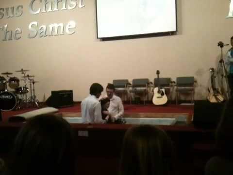 Stephanie Irwin Baptism Part 2