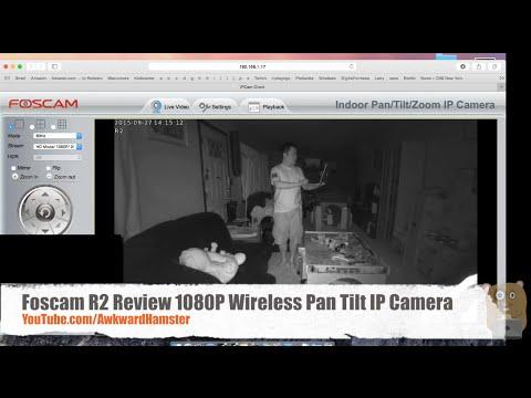 Foscam R2W Review 1080P Wireless Pan Tilt IP Camera