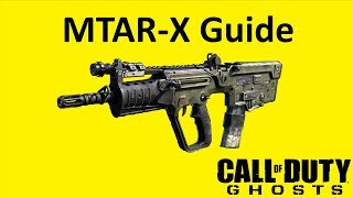 MTAR-X Submachine Gun Weapon Guide Call of Duty Ghosts Best Soldier Setup