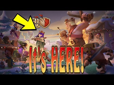 First look at the Clash of Clans Christmas Update | COC December Update 2017