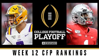 Week 12 CFP Rankings: Penn State, Oklahoma Inch Up | 2019 College Football Playoff | CBS Sports HQ