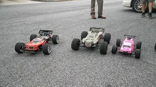 Running RC Cars and Trucks