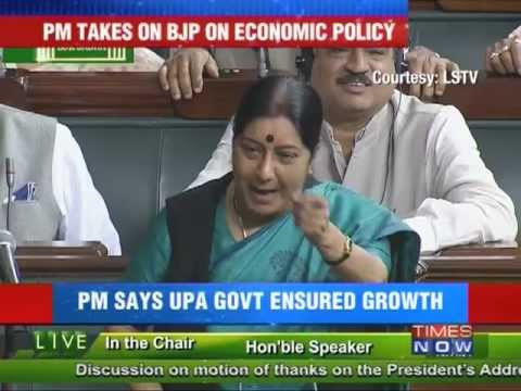 PM Manmohan Singh's aggresion stuns BJP.