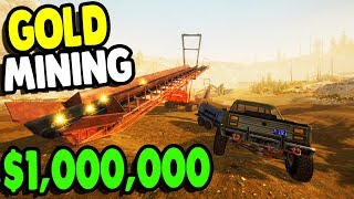 NEW Gold Mining DLC $1,000,000 Equipment Frankenstein Update | Gold Rush: The Game Gameplay