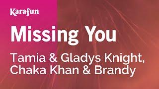 Karaoke Missing You - Tamia *