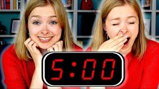 Das passiert, wenn du 7 Tage um 5 Uhr aufstehst! - Experiment