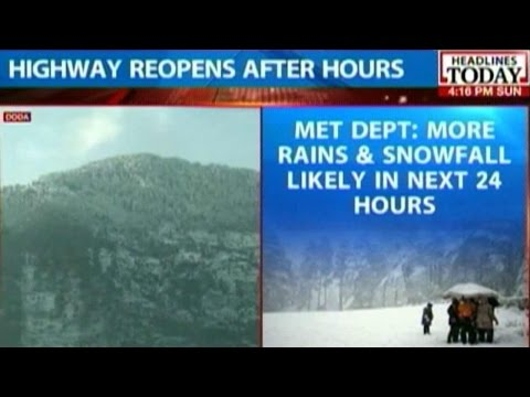 Srinagar-Jammu Highway Closed For Hours After Landslides