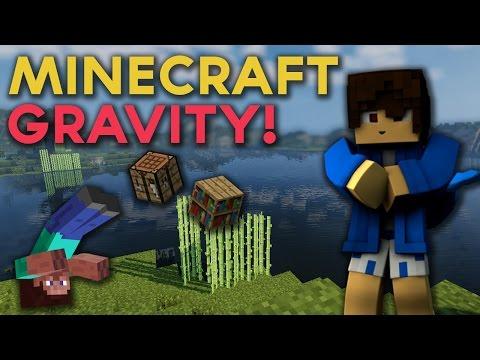 JA SPADAAAAAM! (Minecraft Gravity)