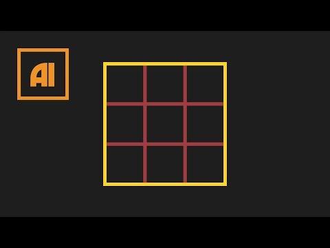 Как сделать сетку в иллюстраторе - Grid Tool   Урок Adobe Illustrator