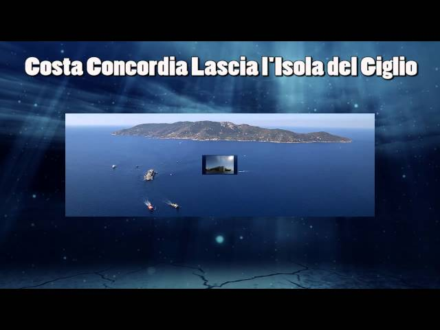 Costa Concordia Ultimo Viaggio Verso Genova - Video News