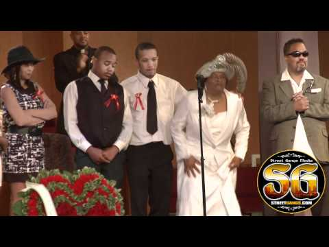 Monte M-Bone Talbert's grandmother gives an emotional speech at funeral - Cali Swag District