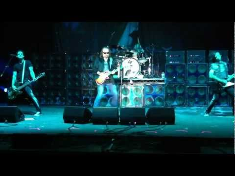 Ace Frehley - Snow Blind - I want you intro - Rock Soldiers 9-2-12.MOV
