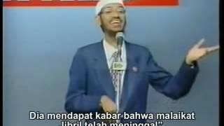 Cerita Perdebatan lucu tentang Jibril antara Islam dan Misionaris kristen Dr Zakir Naik