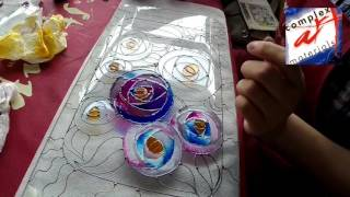 Vitralii - Pictura pe sticla imitatie de Vitraliu - Workshop Imitation Stained Glass - Vitrail