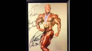 El Autografo de PHIL HEATH!