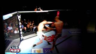 Jeremy Stevens vicious knockout!