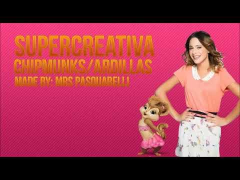 Supercreativa - Chipmunks/Ardillas