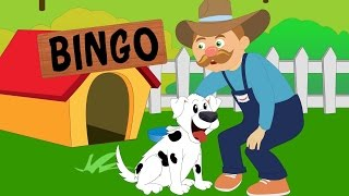 Bingo Nursery Rhyme with Lyrics