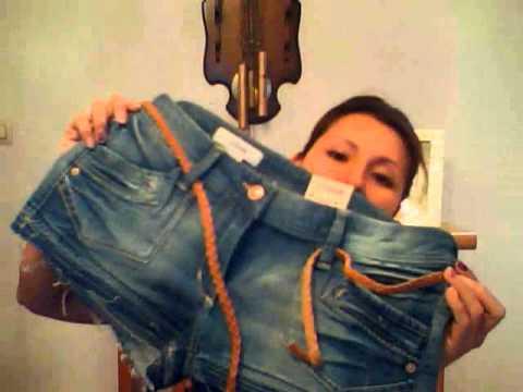 mis compras jeans pantalones faldas y shotrs.wmv