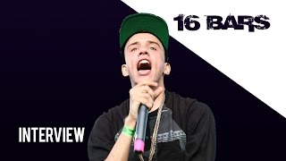 Logic Talks Freestyling, His Lyrics and New Album - 16 Bars Interview