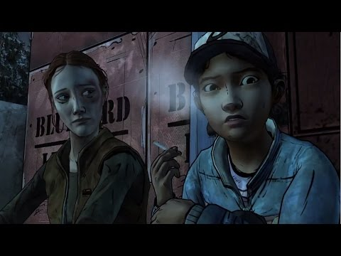 Clementine funny moments: drinks and smokes