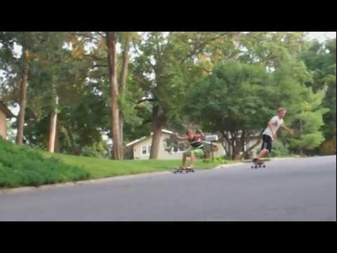 Super Shaka & Bhangra - Longboarding Slide Video