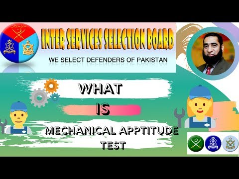WHAT is Mechanical Aptitude Test  And How It Work ISSB-Test Preparation