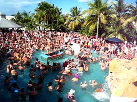Key West Fantasy Fest Dante's Pool Party