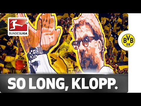 Tears for Klopp - Emotional Send-Off from the Dortmund Fans