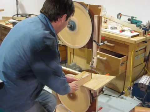 building a bandsaw experiments