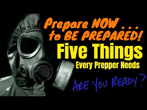 5 Things Every Prepper Needs