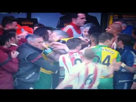 Sam Allardyce Fight vs Norwich!!!