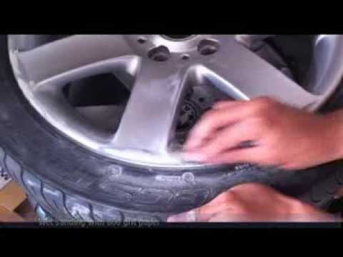 how to repair and paint alloy wheels at home with spray cans bmw 44s. Black Bedroom Furniture Sets. Home Design Ideas