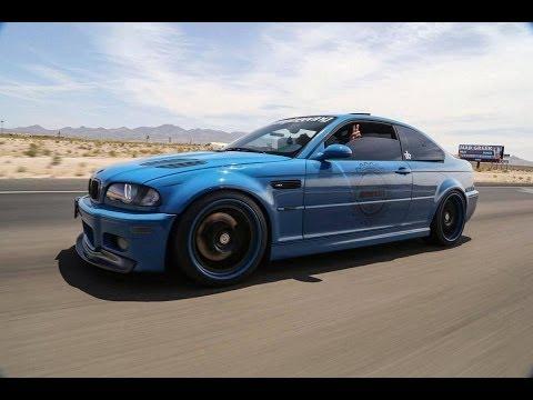 BMW E46 M3 VF Supercharged Laguna Seca Blue Exhaust +Burnout +Launch