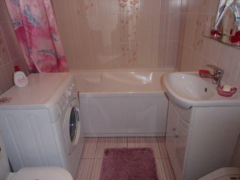 Моя ванная комната.Чистим все.
