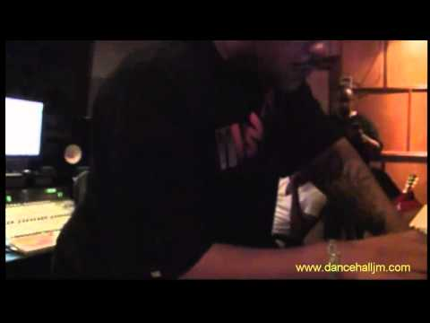 Vybz Kartel & Busta rhymes In Doncorleon Studio Voicing A Hit OHH! OCT 2010