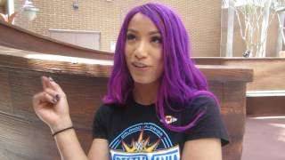 Sasha Banks at Arnold Palmer Hospital for Children - WWE WrestleMania Week Orlando 2017
