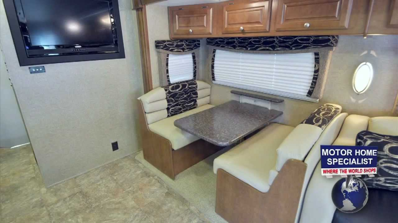 The ultimate toy hauler motorhomes outlaw class a for Class a rv with garage