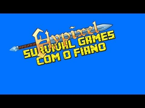 Momentos Aleatórios - Survival Games no Hypixel e Falando sobre as séries do canal