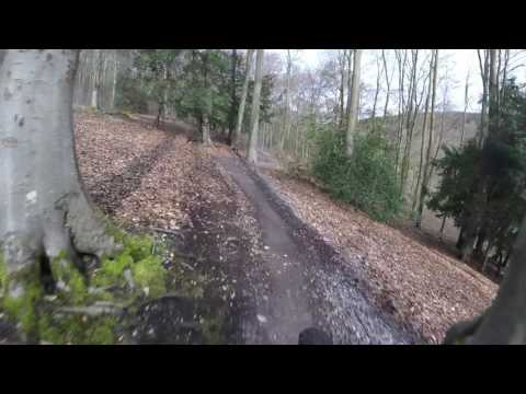 Queen Elizabeth country park mtb fun blue run