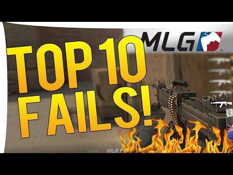 CS:GO - TOP 10 BIGGEST FAILS MLG COLUMBUS 2016!