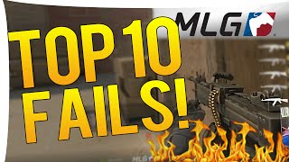 CS:GO - TOP 10 BIGGEST FAILS MLG COLUMBUS 2016!