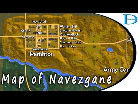Download A Navezgane Map  Days To Alpha