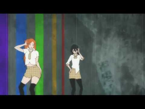 Orihime and Rukia... HOT MESS