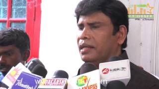Actor And Politician Anandaraj Press Meet
