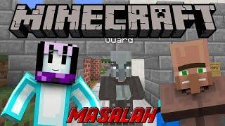 MASALAH VILLAGER | Minecraft Indonesia Adventure Map | Villager Trouble