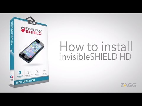 invisibleSHIELD High Definition - Phone Installation Walkthrough
