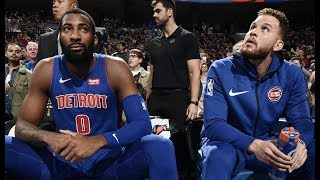Joel Embiid Is In Andre Drummond's Head, He Gets Benched In The First Half After Going Scoreless